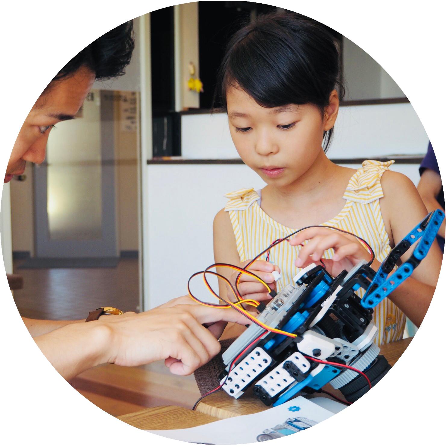 まずはロボットを組み立ててみよう!